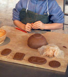 Atelier enfants musée de Saint-Romain-en-Gal