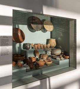 Boutique de potier au musée de Saint-Romain-en-Gal