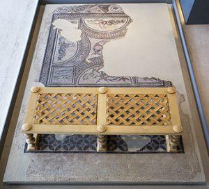 Chambre à coucher-cubiculum au musée de Saint-Romain-en-Gal
