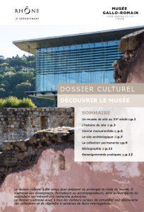 Dossier culturel musée de Saint-Romain-en-Gal