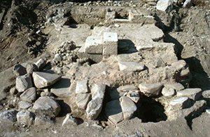 Les vestiges du site archéologique de Saint-Romain-en-Gal