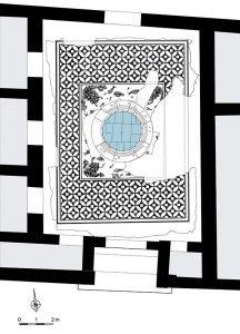 Maison des Dieux Océan contexte-Site archéologique de Saint-Romain-en-Gal
