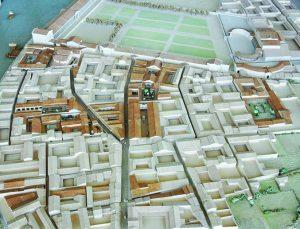 Maquette quartier de Saint-Romain-en-Gal