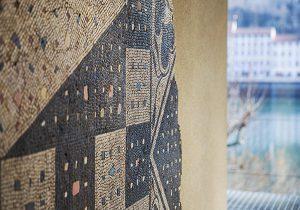 Mosaique losanges et crustae
