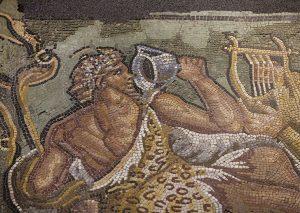 Mosaique de Lycurgue-Musée de Saint-Romain-en-Gal