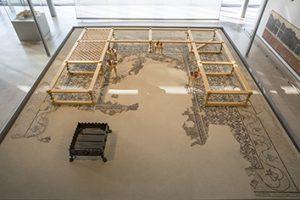 Triclinium au musée de Saint-Romain-en-Gal