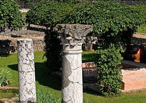 Maison aux Colonnes-Site archéologique de Saint-Romain-en-Gal