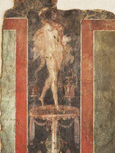 Peinture de la paroi du Globe au musée de Saint-Romain-en-Gal