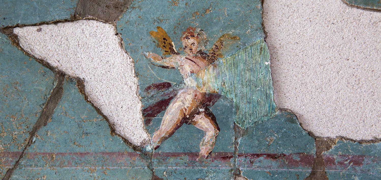 Musée de Saint-Romain-en-Gal – Enduit peint