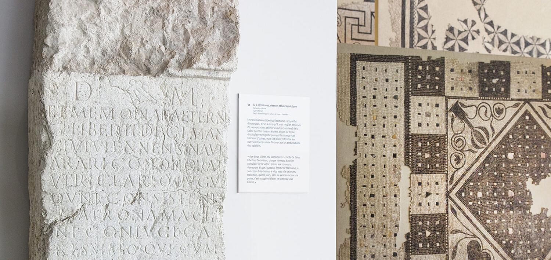 Musée de Saint-Romain-en-Gal – Épitaphe de Decimanus