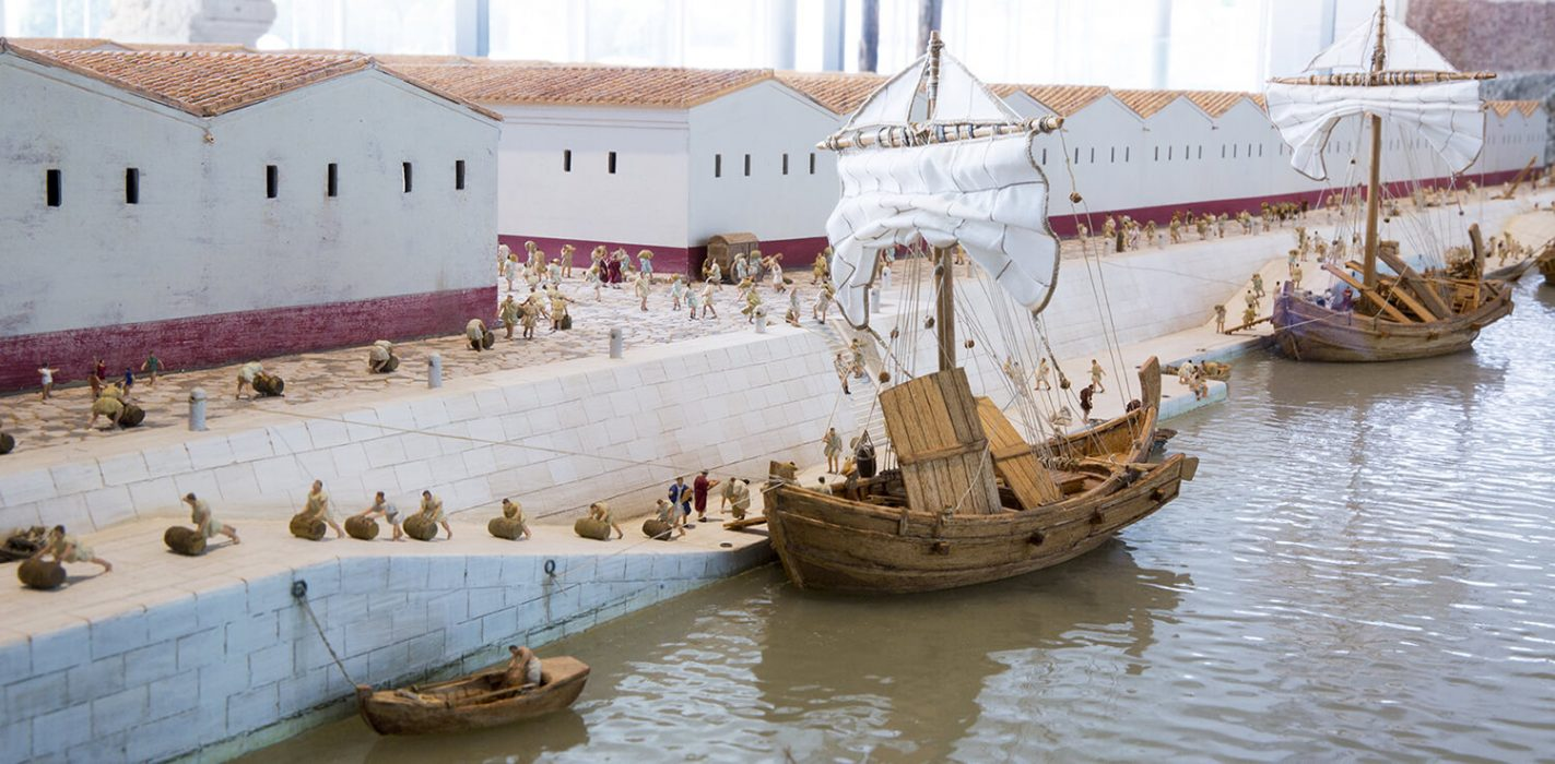 Musée de Saint-Romain-en-Gal – Maquette