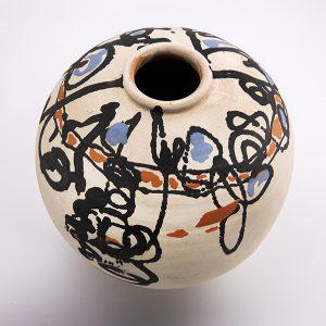 Vase rond Lassaad Metoui