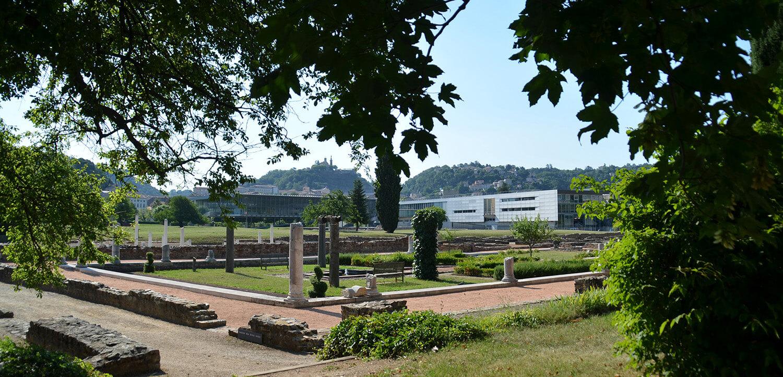 Maison des Dieux Océan à Saint-Romain-en-Gal
