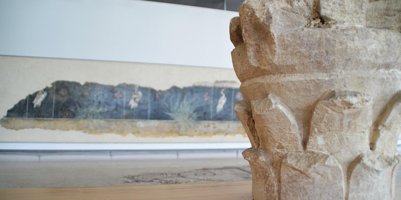 Péristyle - Musée de Saint-Romain-en-Gal