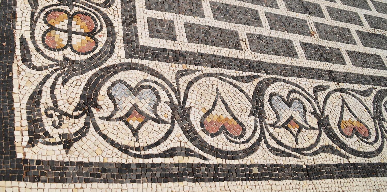 Maison aux Cinq mosaïques à Saint-Romain-en-Gal